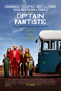 Captain Fantastic movie playing in High River