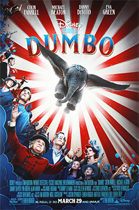 Dumbo movie playing in High River Foothills Films