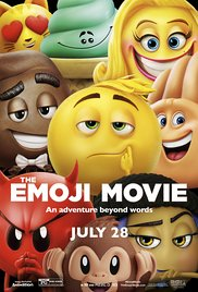 Emoji movie playing in High River