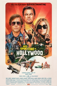 Once Upon a Time in Hollywood movie playing at the Wales Cinema in High River