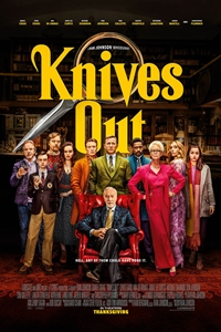 Knives Out in the neighborhood movie playing in High River