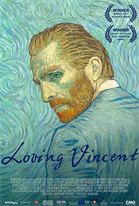 Loving Vincent movie playing in High River