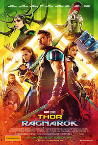 Thor Ragnarok movie playing in High River