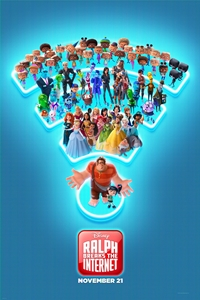 Ralph breaks the internet movie playing at the Wales Cinema in High River