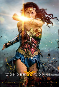 WOnder Woman movie playing in High River